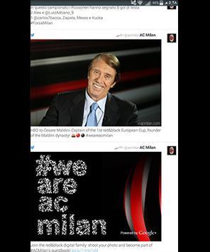 أخبار نادي ميلان screenshot 3