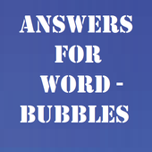 Answers for Word-Bubbles icon