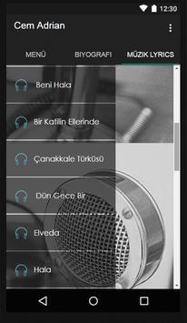 Cem Adrian Müzik Lyrics screenshot 2