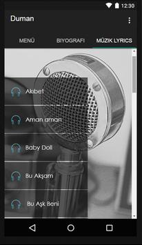 Duman - Öyle Dertli Müzik screenshot 1