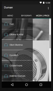 Duman - Öyle Dertli Müzik screenshot 2