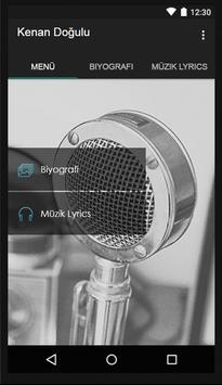 Kenan Doğulu Müzik Lyrics poster