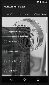 Mahsun Kırmızıgül Müzik Lyrics screenshot 1