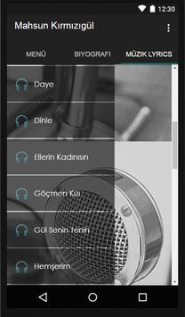 Mahsun Kırmızıgül Müzik Lyrics screenshot 2