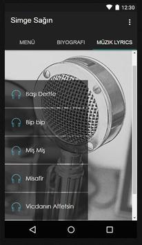 Simge - Yankı Müzik Lyrics screenshot 1