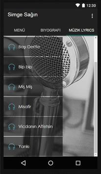 Simge - Yankı Müzik Lyrics screenshot 2