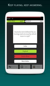 Cricket Quiz Multiplayer 2017 screenshot 12