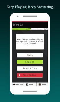 Cricket Quiz Multiplayer 2017 apk screenshot