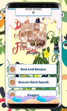 Migos Piano Tiles Game Music poster