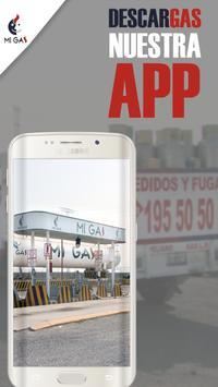 Mi Gas App screenshot 1
