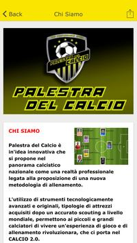 Palestra del Calcio apk screenshot