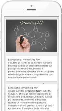 Networking APP screenshot 1