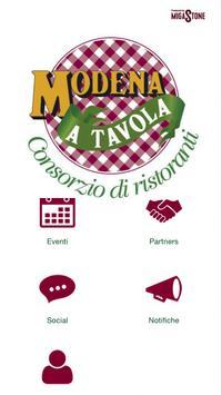 Consorzio Modena a Tavola poster