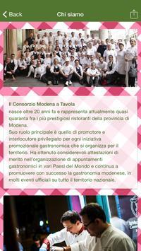 Consorzio Modena a Tavola screenshot 1