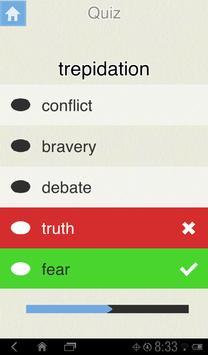 Visual Vocab SAT -- Free apk screenshot
