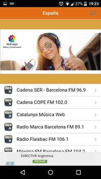 Radios Spain screenshot 1