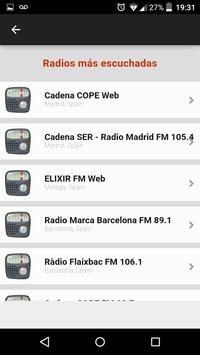 Radios Spain screenshot 4
