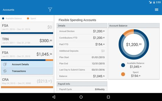BUSA WealthCare Mobile apk screenshot