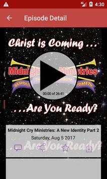 Midnight Cry Ministries poster