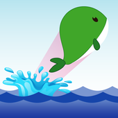 Green Whale Challenge icon