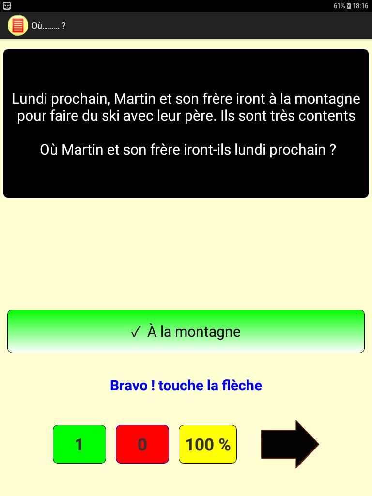 Compréhension De Texte Lite For Android Apk Download