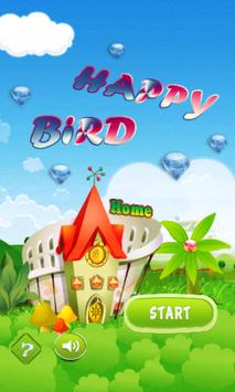 Happy Flying Bird poster