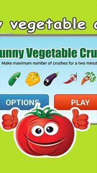 funny vegetable crush screenshot 1