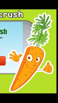 funny vegetable crush screenshot 2