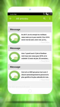 Meilleures Bonne Année Messages 2018 apk screenshot