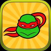 Ninja adventure Turtle Run icon
