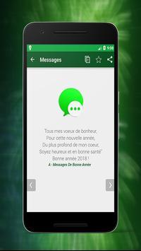 Meilleures Bonne Année Messages And SMS 2018 screenshot 4