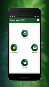 Meilleures Bonne Année Messages And SMS 2018 screenshot 1