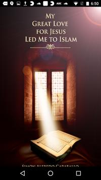 My Great Love for Jesus Led .. poster