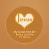 Mi gran amor por Jesús me ..-icoon