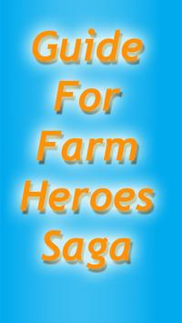 Guide For Farm Heroes Saga poster