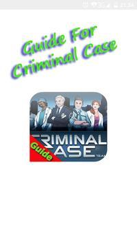 Guide For Criminal case poster