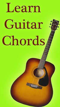 Learn Guitar Chords poster