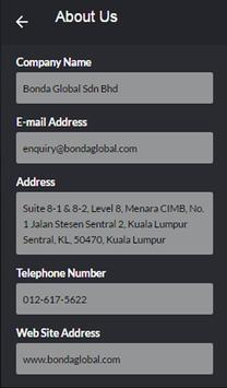 Bonda Global apk screenshot