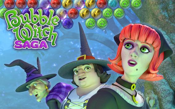 Bubble Witch Saga screenshot 14