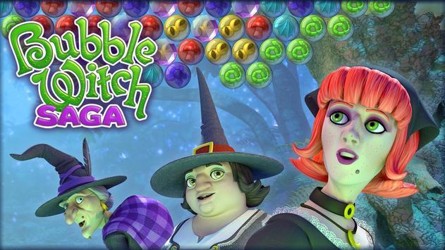 Bubble Witch Saga screenshot 4