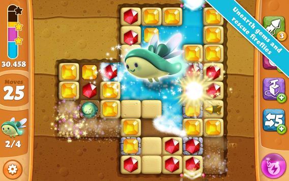 Diamond Digger Saga captura de pantalla de la apk