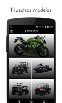 Kawasaki de México Oficial apk screenshot