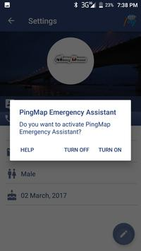 PingMap apk screenshot