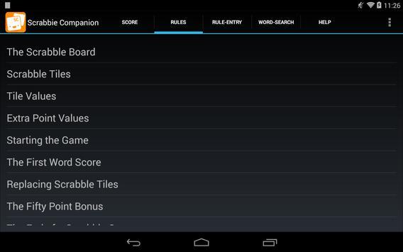 Scrabbie Companion apk screenshot