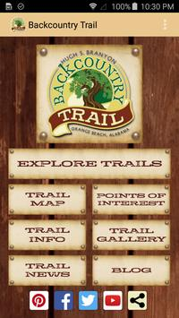 Backcountry Trail poster
