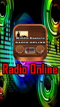 Middle Eastern radio online poster