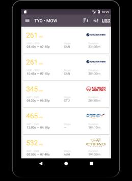 Middle East Flights apk screenshot