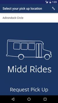 MiddRides - Middlebury College poster