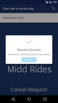 MiddRides - Middlebury College apk screenshot
