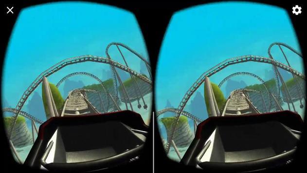 VR Island Roller Coaster apk screenshot